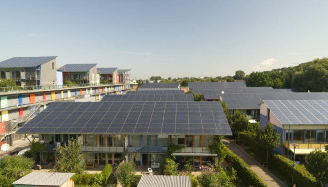 Germany is making the transition to a green energy future in part by building