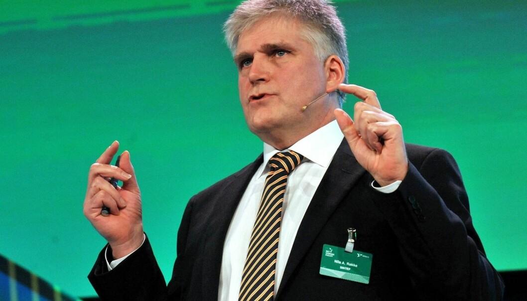 Sintefs klimadirektør Nils A. Røkke har tro på teknologi i kampen for å redde klimaet. Han er imponert over hva Tyskland og Danmark har fått til. – De to landene har vist at det er mulig å nå langt ved å lage offensive strategier og etterpå holde seg til dem, sier Røkke. (Foto: Ned Alley, NTB scanpix)