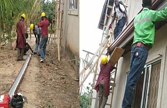 Using rooftop rainwater to make drinking water