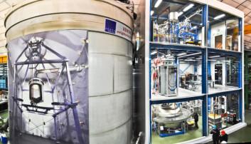 Enorm detektor er klar til å fange mørk materie