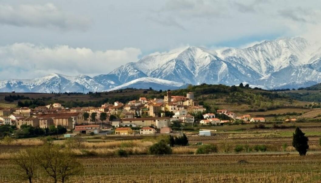 En fantastisk utsikt til Canigou, et fjell som ligger i Pyreneene i Sørvest-Europa. Kan en slik utsikt ha effekt på helsa?  (Foto: Keith Ellwood/Flickr.)