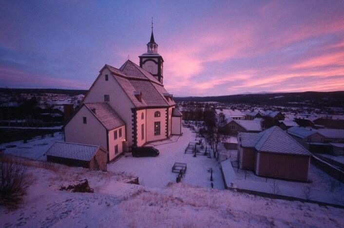 Utsikten og omgivelsene på Røros kan ha påvirket helsa hos hjerte- og lungepasienter.  (Foto: Aslak Raanes/Flickr.)