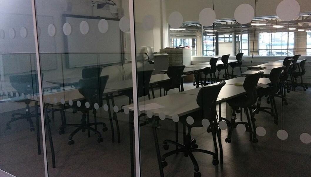 Elever på yrkesfag får dårligst klasserom