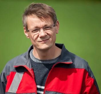 Forsker i Genetikk og planteforedling ved Norges miljø- og biovitenskapelige universitet (NMBU), Morten Lillemo. (Foto: NMBU)