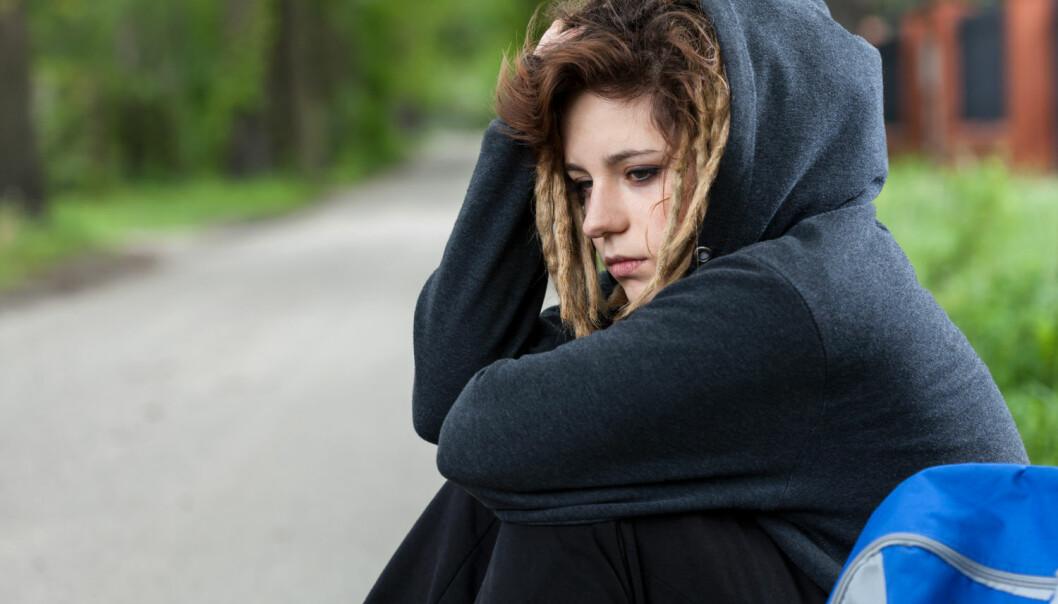 Omlag 11 prosent av ungdommene har et høyt nivå av depressive symptomer, ifølge Ungdata-undersøkelsen. Men det er små forskjeller mellom kommunene.  (Foto: Photographee.eu, Shutterstock, NTB scanpix)