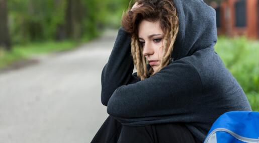 Depresjon blant ungdom er jevnt fordelt blant kommunene