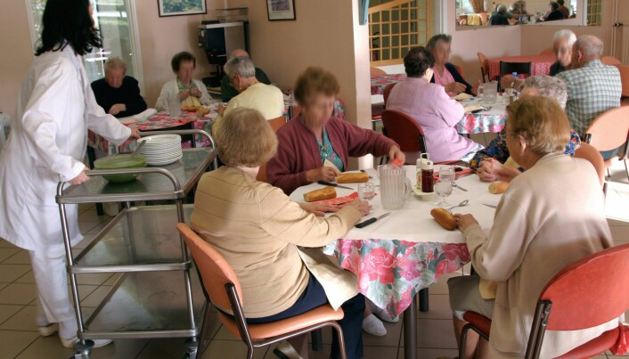 Indoor climate in nursing homes can be dangerous for the residents