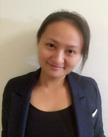 Lijuan Xiu forsker som en del av et langvarig fedmeprosjekt i Stockholm. (Foto: Privat)