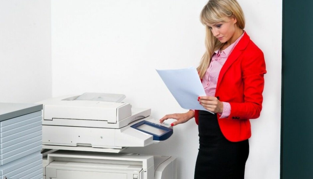 It's easy. Just print on both sides of the paper. (Photo: Microstock)