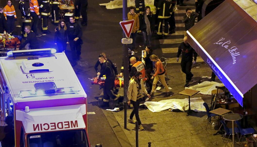 Terroristene som angrep Paris drepte minst 129 mennesker og såret flere enn 350. (Foto: Philippe Wojazer/Reuters)