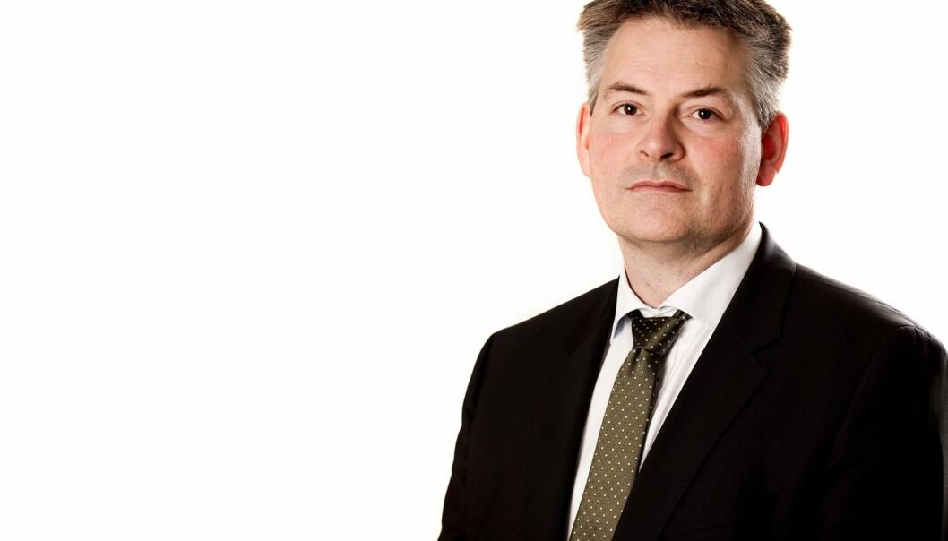 Bjørn Haugstad er kunnskapsminister Torbjørn Røe Isaksen sin høyre hånd overfor universitetene og resten av norske forsknings- og utdanningsinstitusjoner. Han karakteriserer det han ser i norsk akademia som «nepotisme».  Marte Garman