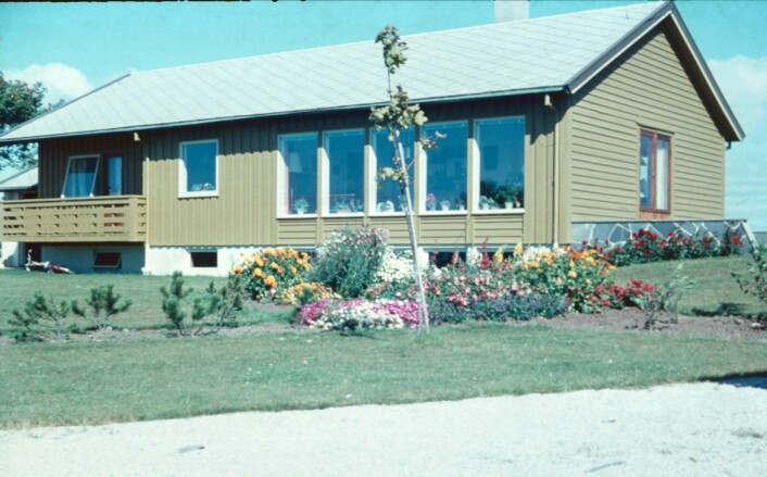 Huset til familien Pestalozzi på Særheim. (Foto: Markus Pestalozzi)