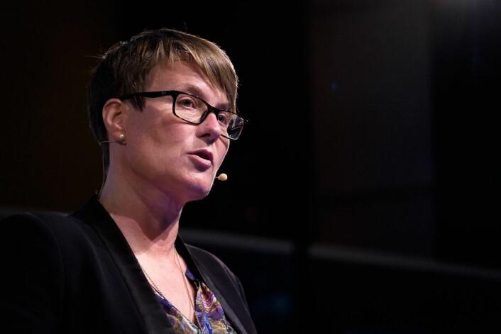 Klima- og miljøminister Tine Sundtoft sier at muligheter for å bruke kvotekjøp gjør at land lettere kan samarbeide om utslippsreduksjoner  (Foto: Ole Gunnar Onsøien, NTB scanpix)