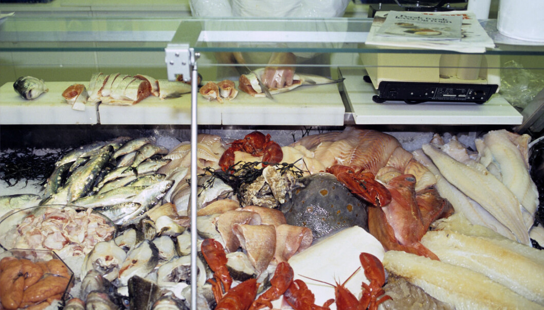 Sjømat, og spesielt skalldyr, inneholder mer av de naturlig radioaktive stoffene radium og polonium-210 enn annen mat.  (Illustrasjonsfoto: Trygve Indrelid, Aftenposten)