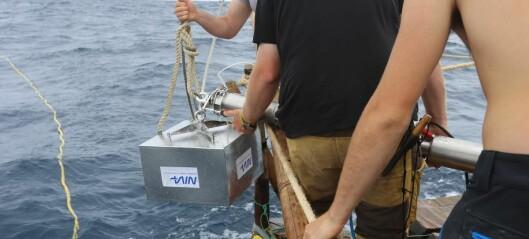 3-stage-sampler i Stillehavet