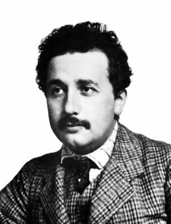 Einstein som 25-åring i 1904 - like før han innleda sin hyperkreative periode. (Foto: Lucien Chavan)