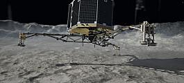 Fortsatt håp for kometlanderen Philae