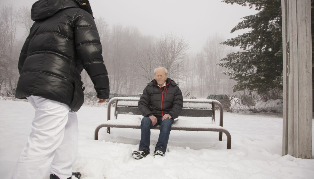The study has confirmed that dementia sufferers can maintain their independence, enjoy their freedom and continue to pursue their outdoor activities in spite of the development of their illness. (Photo: Henning Tunsli)