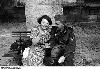 Punished without trial for sleeping with the Germans