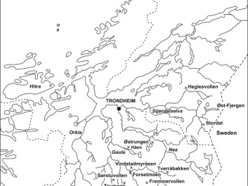Places that testify to iron production in Trøndelag: Heglesvollen, Øst-Fjergen, Stordalen, Østrungen, Tovmoen, Storbekkøya, Vårhussetra, Tverråbakken are all sites from the Early Iron Age that have undergone archaeometallurgical study.