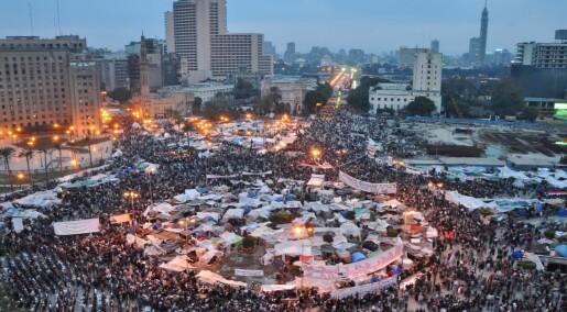Den arabiske våren som matematisk modell