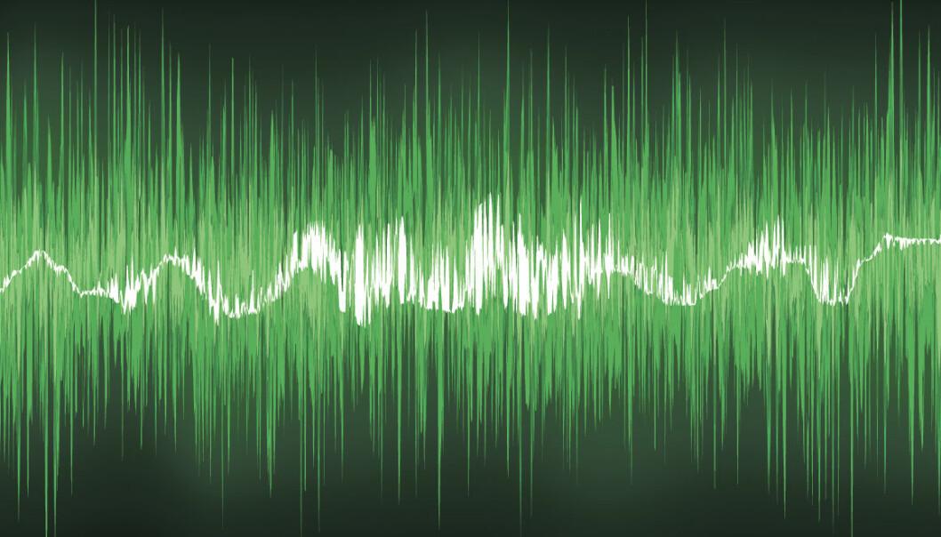 Lydbølger kan skyfle data opp og ned langs tråder som er tusen ganger tynnere enn et menneskehår. Slik kan denne typen bli mye raskere enn harddisker, bruke mindre strøm og bli mer robust –når og hvis den finner veien ut av laboratoriet og inn i mobiler, nettbrett og pc´er. (Illustrasjonsfoto: Colourbox)