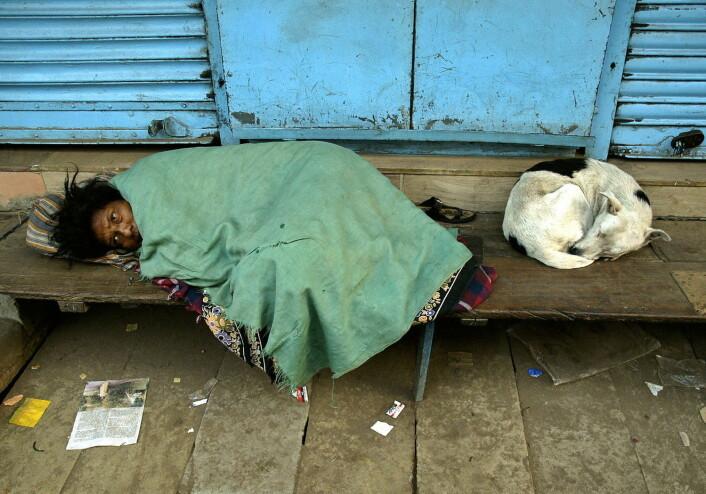 Primitive sykehusforhold eller fullstendig mangel på helsevesen er en viktig årsak til at så mange fortsatt dør av kolera i u-land i dag.  (Illustrasjonsfoto: Adeel Halim, Reuters)