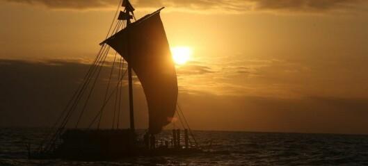 Skarp seiling med 500 år gammel skipsdesign