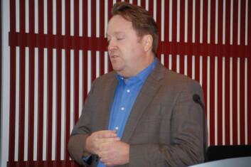 - Forbrukere flest er for sløve, sultne og travle til å sammenligne priser, sa professor Bent Sofus Tranøy ved Høgskolen i Hedmark og Markedshøyskolen. (Foto: Anne Lise Stranden, forskning.no)