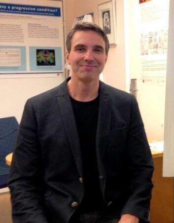Kjell Heuser er overlege ved Rikshospitalet og har doktorgrad i fagområdene epileptologi, genetikk og molekylærbiologi. (Foto: Kristoffer Eide)