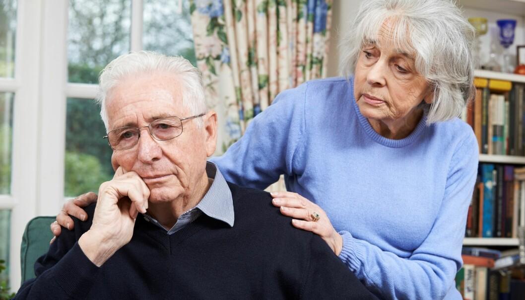 Bakterier fra munnen er funnet i hjernen hos Alzheimers-pasienter. (Illustrasjonsfoto: Colourbox)