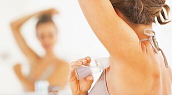 – De fleste bruker antiperspiranten feil