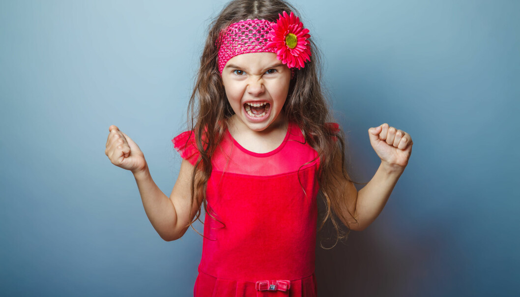Aggression is common in young children. Aggressive behaviour increases until children are around 4 years old, and then gradually subsides. (Photo: Microstock)