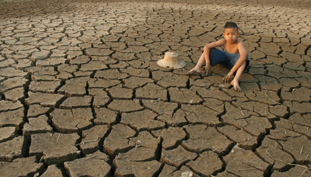 Tørke og vannmangel bekymrer flest mennesker i verden. Bildet er fra Thailand.  (Foto: piyaset/NTB scanpix)