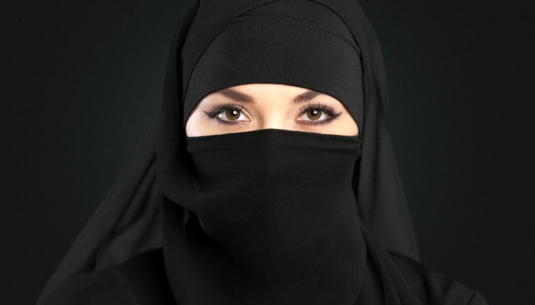 Ansiktsdekkende plagg er forbudt i Frankrike. Flere franske muslimske kvinner mente dette forbudet brøt med menneskerettighetene deres. (Foto: Microstock, NTB scanpix)