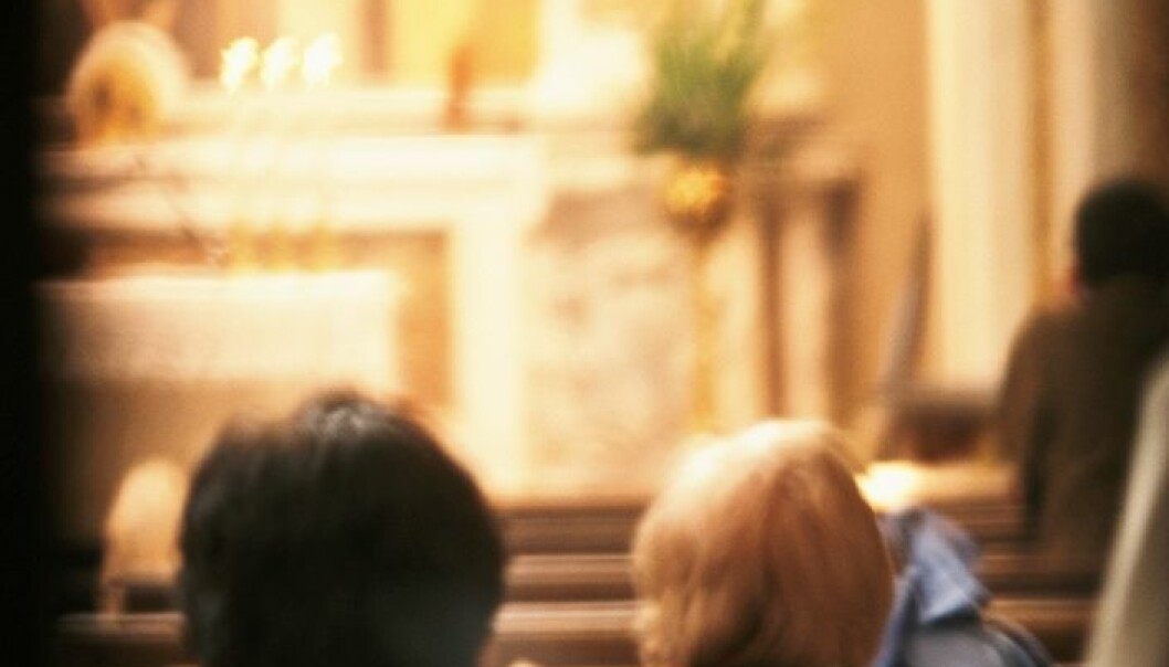 Churchgoers both in Norway and in the US have better health (Photo: Colourbox)
