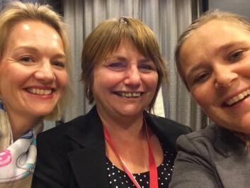 Selfie med Nina - Yngre om eldre-bloggens mor.  (Foto: Linn Hege Førsund)