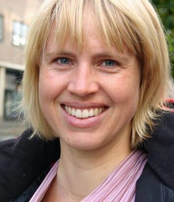 Line Førre Grønstad skal snart i gang med en doktograd der menns tanker om valg av etternavn er tema.  (Foto: Ida Irene Bergstrøm)
