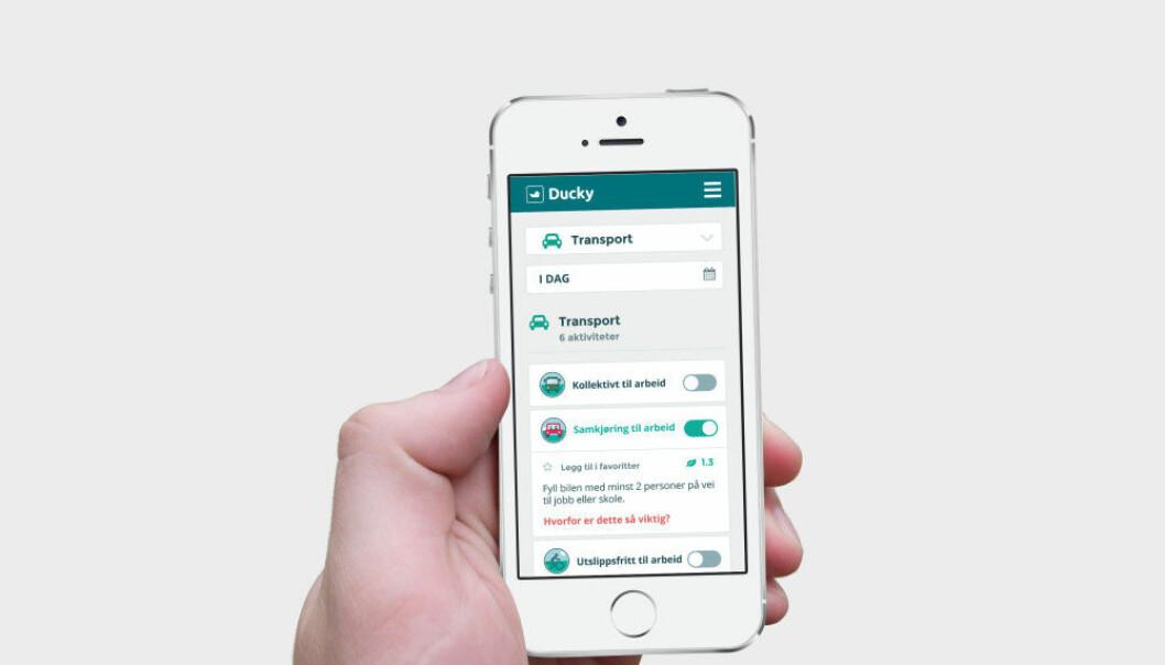 Denne appen skal gjøre deg mer klimavennlig