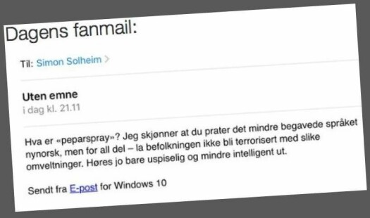 Mailen frå Østfold