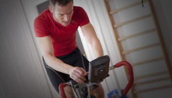 Et forsøk med menn i 20-årene viste at langtidsvirkninger av intens intervalltrening skyldtes skade. Skaden ga en lekkasje av kalsium i muskelcellene som over tid førte til økt utholdenhet. Mekanismene i cellen ble også bekreftet med forsøk på muskelceller fra mus. (Illustrasjonsfoto: Colourbox)