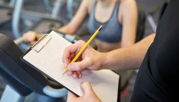 Å holde en nøye oversikt over hvordan du blir sterkere etter hver trening kan hjelpe deg å oppnå målsetningene dine.  (Illustrasjonsfoto: Colourbox.)