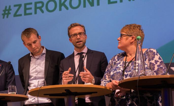 – Næringslivet ser muligheter til å skape grønne arbeidsplasser, sa Nikolai Astrup fra Høyre. (Foto: Arnfinn Christensen, forskning.no)