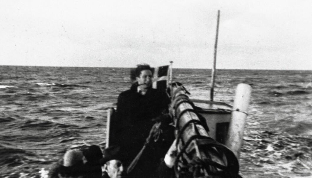 Å hjelpe jødene med å flykte under andre verdenskrig var farlig. Derfor måtte hjelperne være anonyme, og å samarbeide anonymt krever tillit, forklarer professor Christian Bjørnskov.  (Foto: Mogens Margolinsky, Nationalmuseet Danmark)