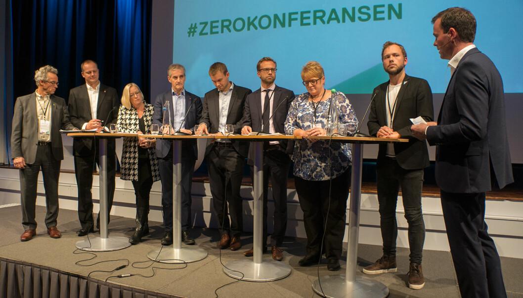 Partilederdebatten som gikk i grønt