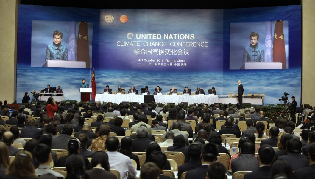 The United Nations Framework Convention on Climate Change. (Photo: Jason Lee, Reuters)