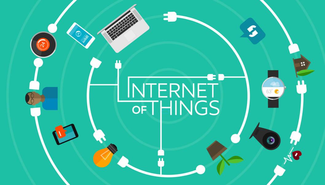 Alle slags gjenstander har bygget små datamaskiner og sensorer slik at de kan oppfatte verden rundt seg og kommunisere med deg og andre ting. (Illustrasjon: Microstock)