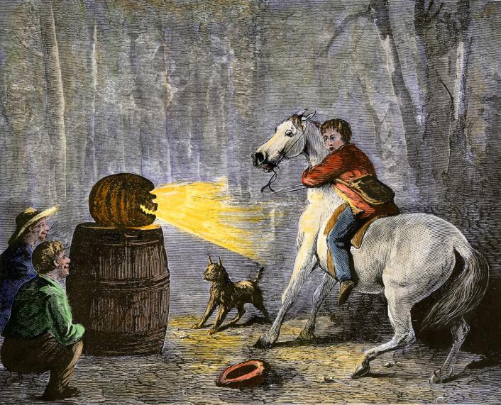 Halloween er en urgammel norrøn og keltisk tradisjon.  (Foto: (Illustrasjon: akg/North Wind Picture Archives, NTB scanpix))