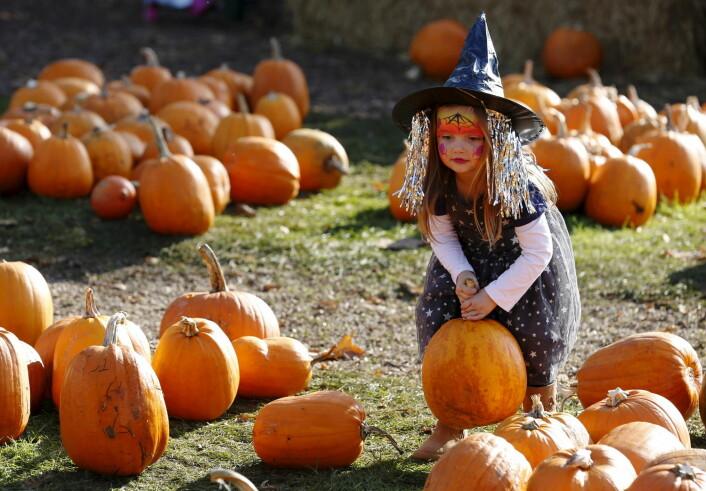 Halloween er på mange måter barnas festdag.  (Foto: Luke Macgregor, Reuters/NTB scanpix)