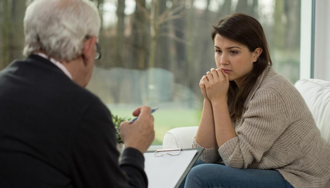 Dersom terapeuten mener at forholdet mellom han eller hun og klienten er bedre enn det klienten syns, så er utsiktene til å bli bedre veldig dårlig, viser en ny doktorgradsavhandling.  (Foto: Microstock, NTB scanpix)